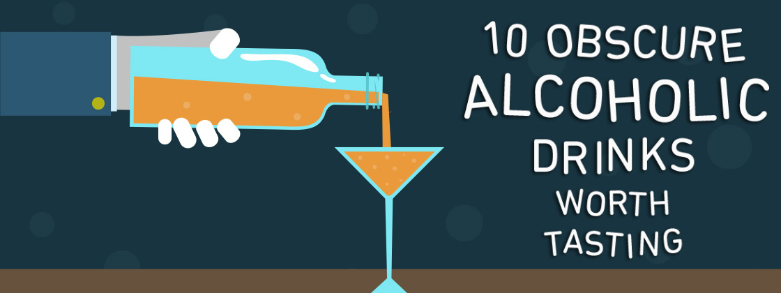 Infographic 10 Tempting Beverages That May Have Passed Under Your Radar